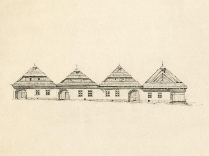Obytné domy v Spišskej Belej 001-01