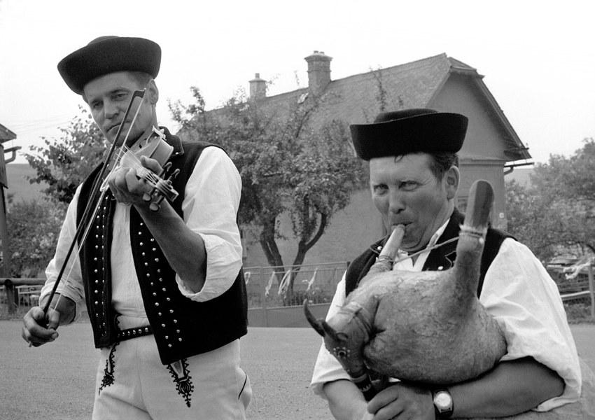 Gajdošská ľudová hudba z Oravskej Polhory 002-01