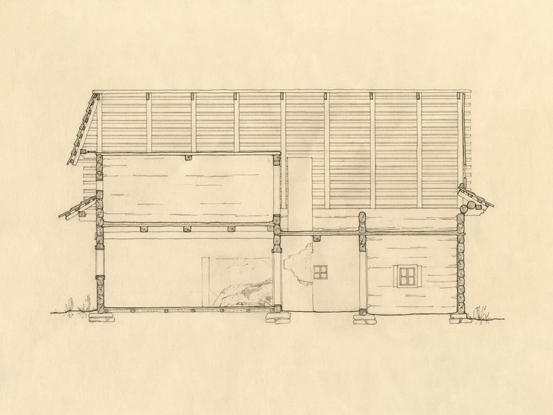 Obytný dom v Čičmanoch 002-02