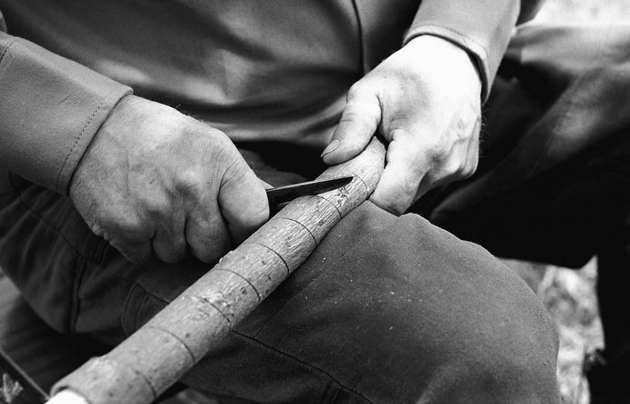 Výroba kôrovej trúby  001-02